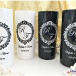 Copos long drink personalizados para casamento R e F