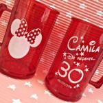 Canecas de acrilico personalizadas Camila 30 anos