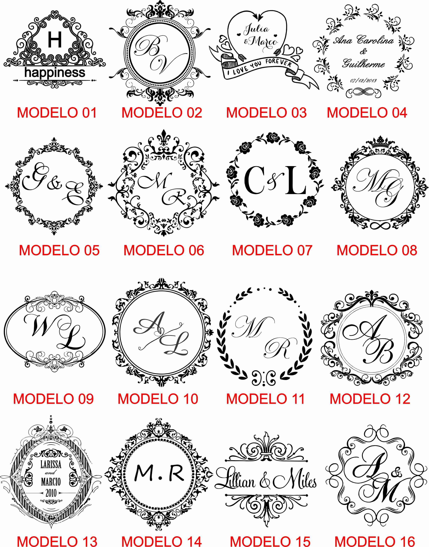 Top modelos-de-artes-monograma-brasao (2) - ZM18