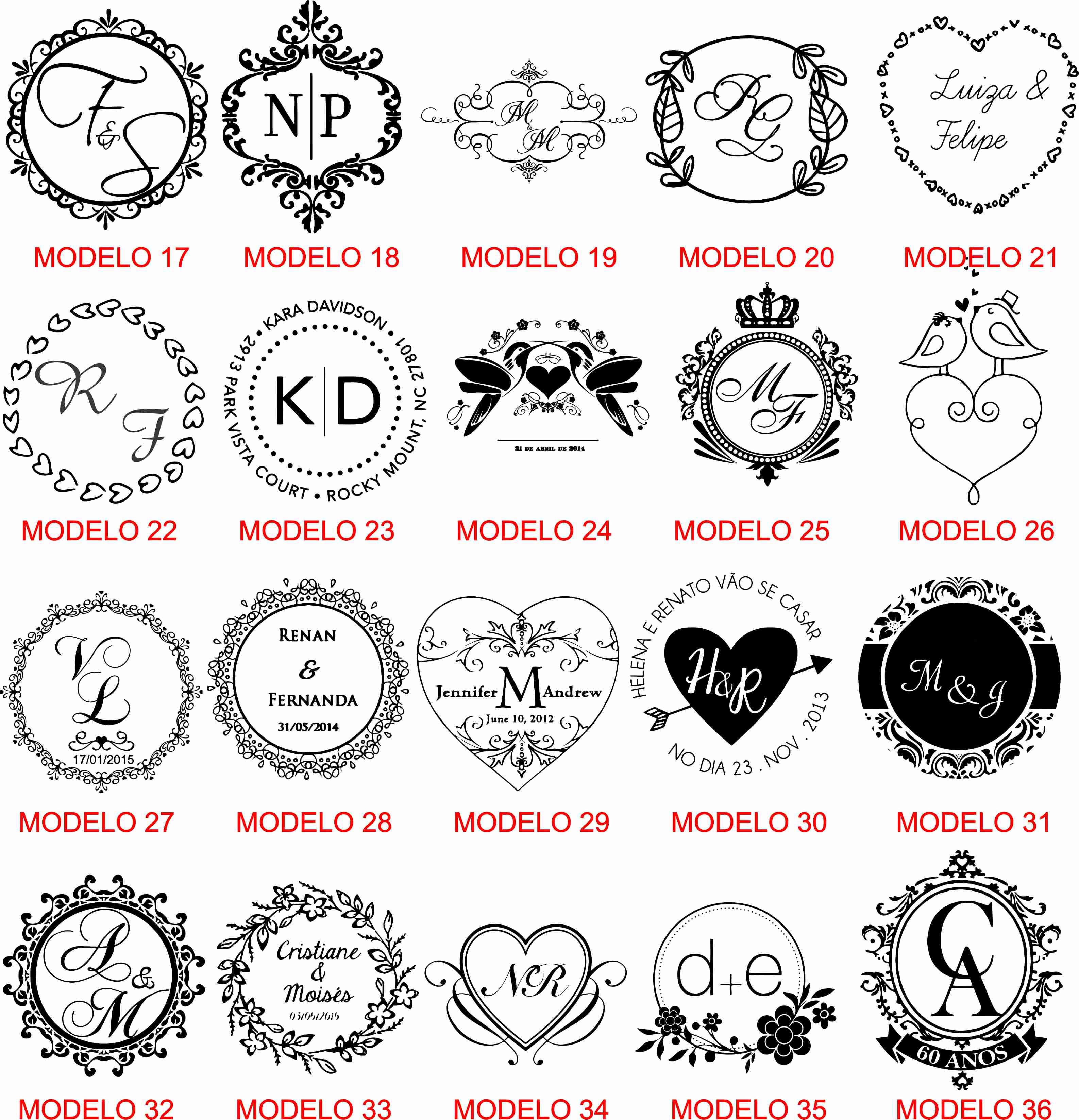 Top modelos-de-artes-monograma-brasao (3) - TH35