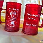 Canecas de acrilico personalizadas Ana Beatriz