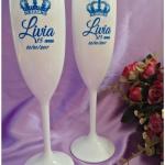 Taças de acrilico personalizadas Livia