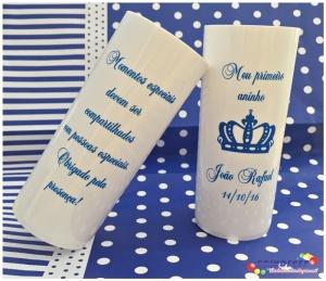Copos long drink personalizados Príncipe João Rafael