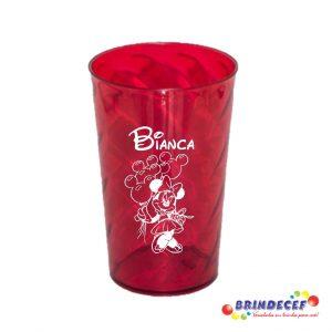 Copos twister personalizados Bianca 15 anos