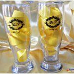 Copos de vidro personalizados Munich A e F
