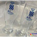 Copos de vidro munich personalizados Associação Sabesp