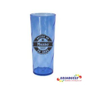 Copos long drink twister personalizados Boteco do Muzão