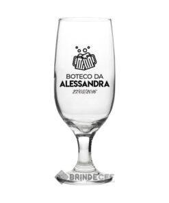 Taça de Vidro Personalizada para Cerveja - Floripa 300ml 1