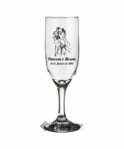 Taça de Vidro Personalizadas para Champanhe Gallant 180ml 3