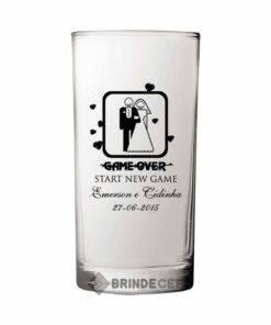 Copo Long Drink de Vidro Personalizado - Cylinder 300ml 1