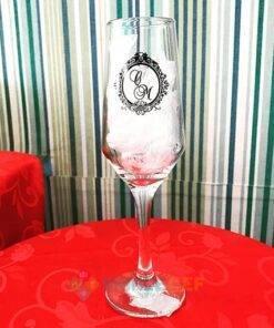 Taças de Vidro Personalizadas Sm Buffet Champanhe 186ml 4