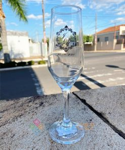 Taças de Vidro Personalizadas Sm Buffet Champanhe 186ml 1