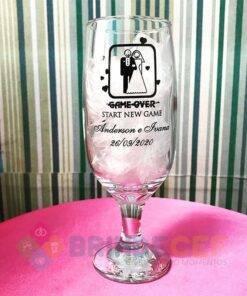 Taça de Vidro Personalizada para Cerveja - Floripa 300ml 3