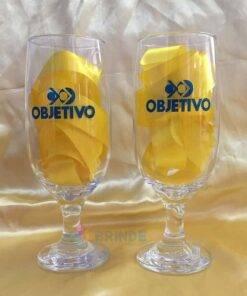 Taça de Vidro Personalizada para Cerveja - Floripa 300ml 6
