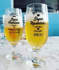 Taça de Vidro Personalizada para Cerveja - Floripa 300ml 5