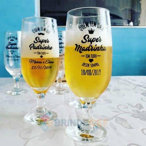 Taça de Vidro Personalizada para Cerveja - Floripa 300ml