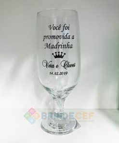 Taça de Vidro Personalizada para Cerveja - Floripa 300ml 12