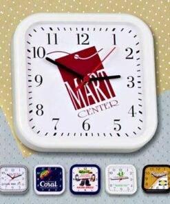 Relógios de parede quadrado