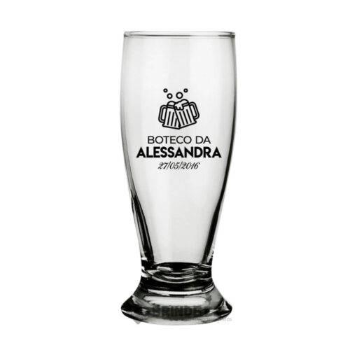 Copo para Cerveja Personalizado Modelo Munich - 200ml
