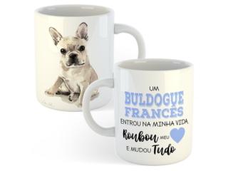 Copo Personalizado Buldogue Frances