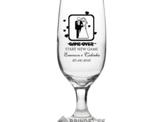 Taças de Vidro Personalizada para Champanhe Windsor 210ml 3