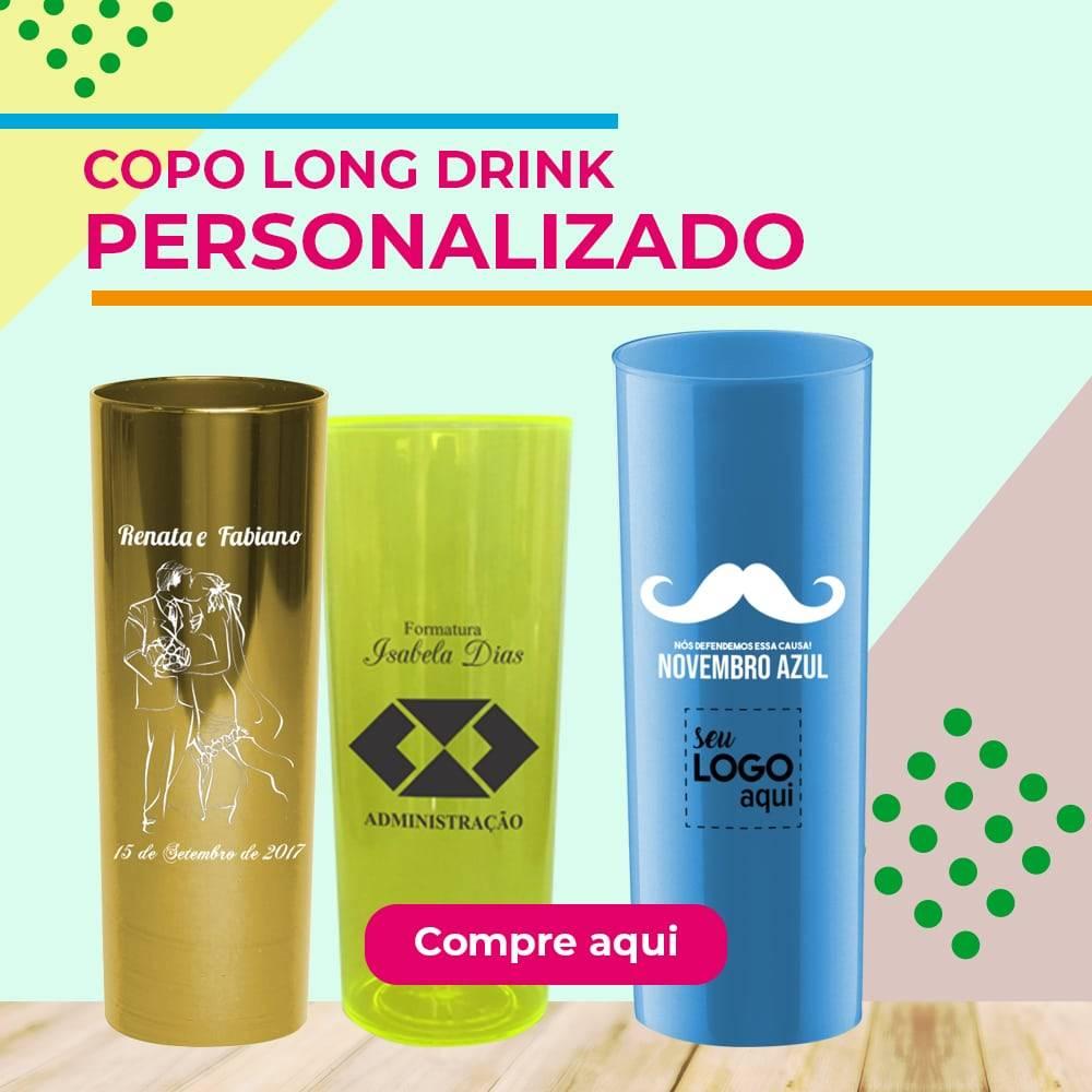Copo long drink Personalizado - O Guia Completo para escolher 3