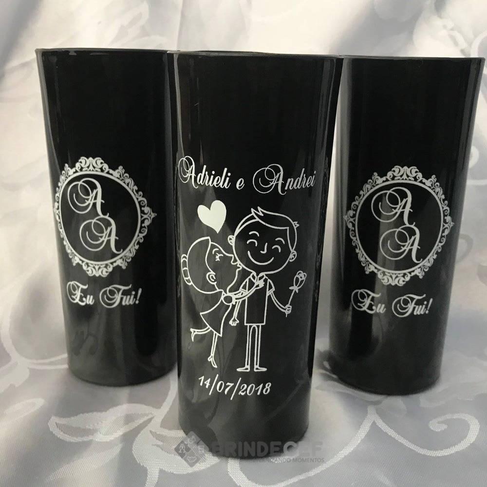 copo long drink personalizado preto