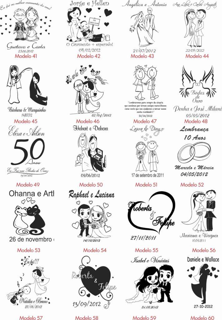 Ideias de Personalização para casamento 3
