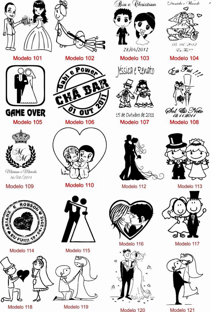 Ideias de Personalização para casamento 6