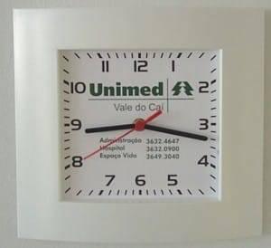 Relógio de Parede Personalizado modelo Social