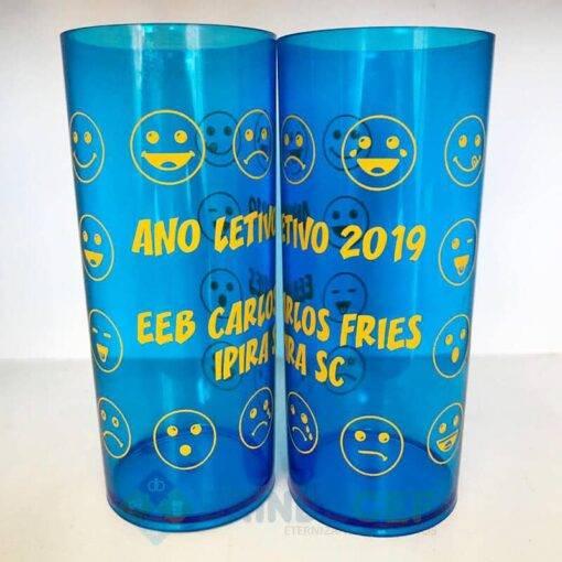 Copos Long Drink Personalizados Ano Letivo 2019