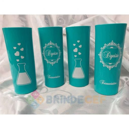 Copos Long Drink Personalizados Dyeise Farmaceutica