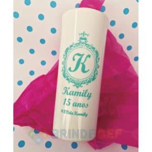 Copos Long Drink Personalizados Kamily 15 Anos