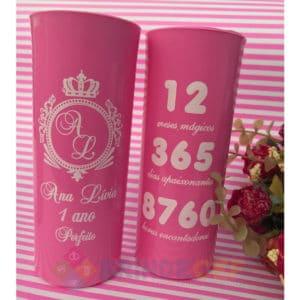 Copos Long Drink Personalizados Ana Luiza 1 Ano