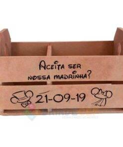 Caixote de MDF Personalizado