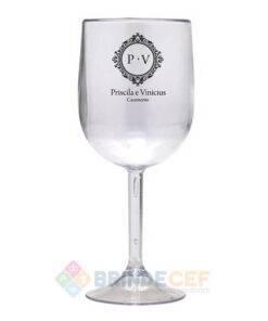 Taça de Vinho de Acrílico Personalizada 1