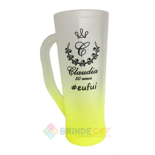 Caneca Slim Degrade 400ml Personalizada