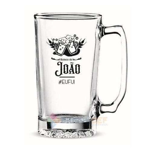 Caneca de Vidro Para Cerveja Personalizada 383mL Manhattan