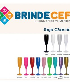 Taça de Acrílico Chandon 200ml Personalizada 1