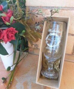 Caixinha para lembrancinhas Taça Floripa em caixinha de Mdf