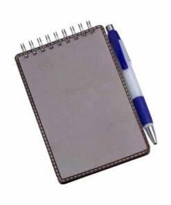 Caderneta de Anotações Vertical Personalizada 1
