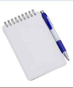 Caderneta de Anotações Vertical Personalizada 3