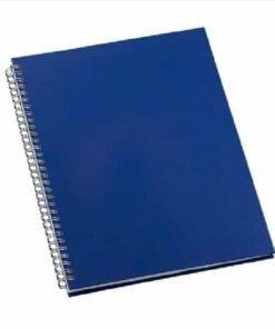 Caderno de negocios pequeno capa metalizada personalizado 2