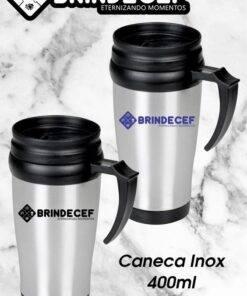 Caneca Inox 400ml Personalizada 3