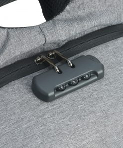 Mochila de Poliéster Anti-Furto USB com Segredo Personalizada 6